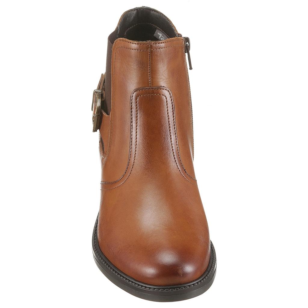 Tamaris Chelseaboots, im Dandy-Style