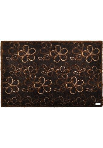 Fußmatte, »Flower«, Zala Living, rechteckig, Höhe 7 mm, maschinell getuftet kaufen