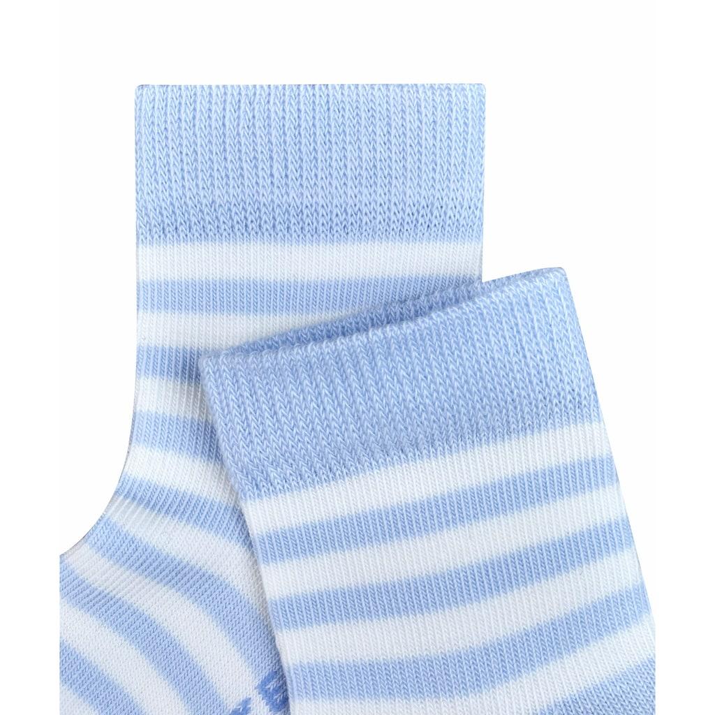 FALKE Socken »Stripe«, (1 Paar), aus kuschelweicher Baumwolle