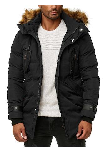 BLACKROCK Outdoorjacke, mit aufgesteppten Zierbändern und Kapuze kaufen