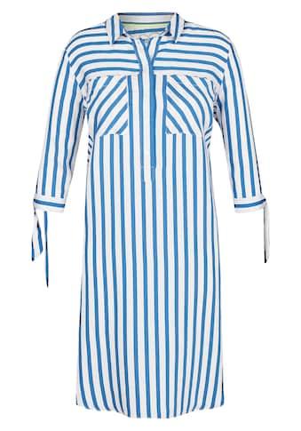 VIA APPIA DUE Klassisches Kleid mit Streifendesign kaufen