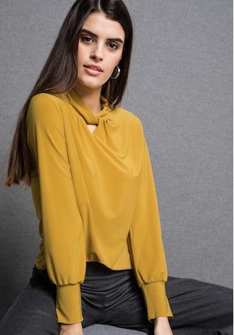 """bianca Blusenshirt »MAREN«, in aktueller Trendfarbe """"saffron"""" kaufen"""