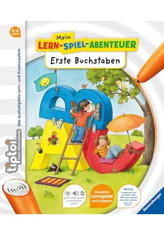 Buch »tiptoi® Erste Buchstaben / Eva Odersky, Constanze Schargan« kaufen
