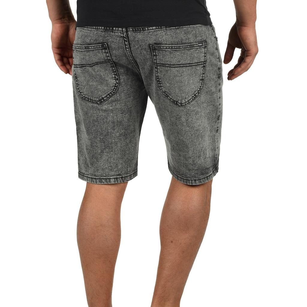 REDEFINED REBEL Jeansshorts »Marcos«, kurze Hose mit Acid-Waschung