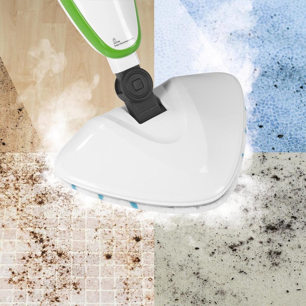 CLEANmaxx Dampfreiniger »5in1 12-tlg. limegreen/weiß«