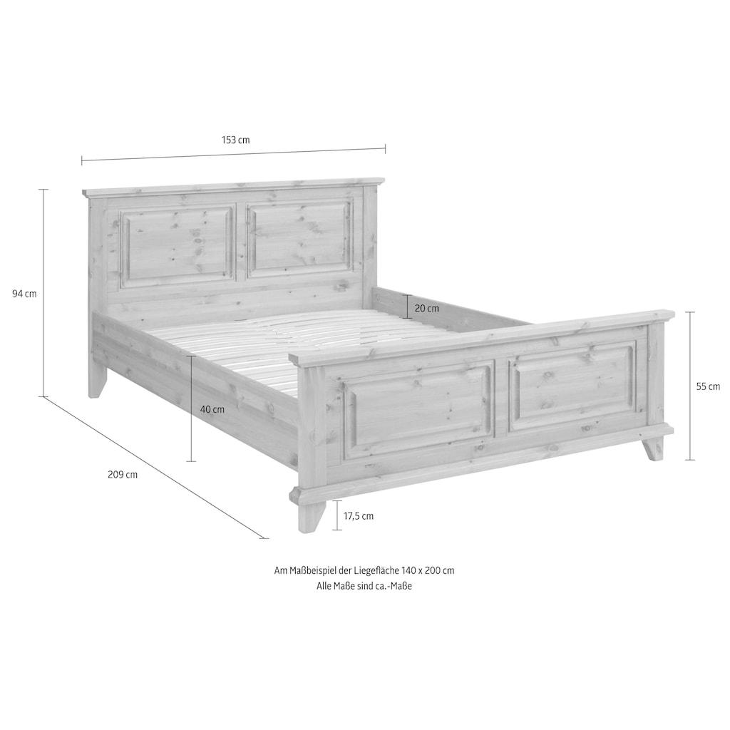 Home affaire Bett »Norrksen«, aus Massivholz