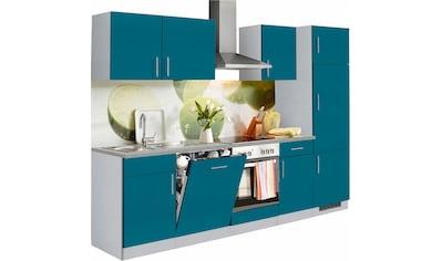 wiho Küchen Küchenzeile »Kiel«, mit E - Geräten, Breite 280 cm kaufen