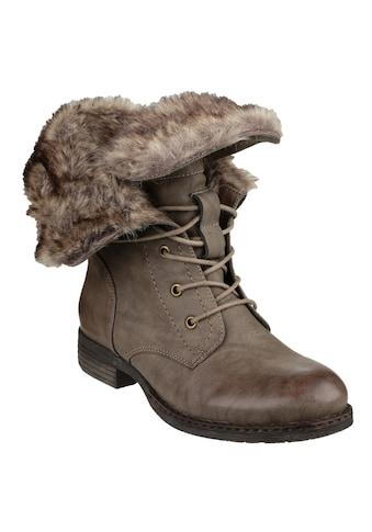 Divaz Stiefelette »Womens/Damen Leigh Lace Up AnkleStiefel« kaufen