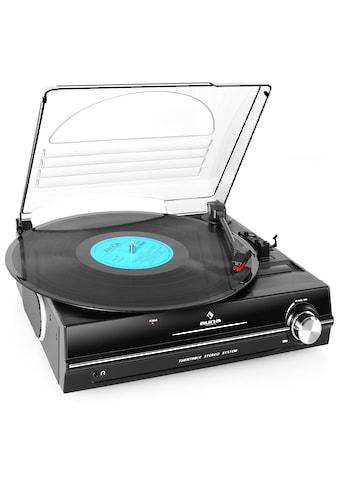 Auna Plattenspieler integrierte Lautsprecher 33 45 RPM Turntable »928« kaufen