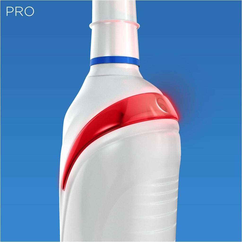 Oral B Elektrische Zahnbürste »PRO 2 2000«, 1 St. Aufsteckbürsten, Sensi Ultra Thin White
