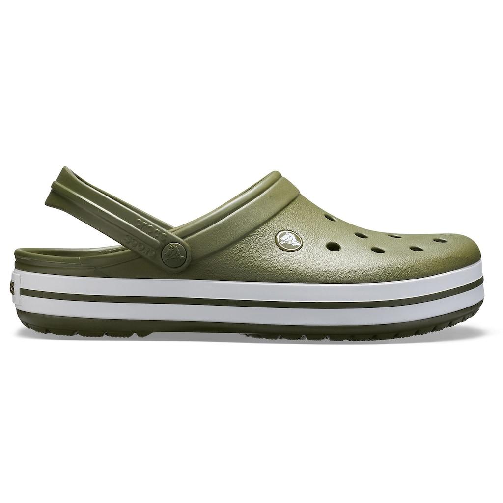 Crocs Clog »Crocband«, mit farbiger Laufsohle