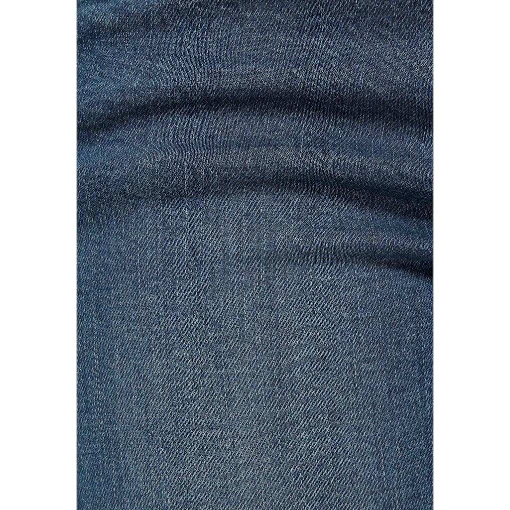 Arizona Caprijeans »Svenja - Bund mit seitlichem Gummizugeinsatz«, High Waist