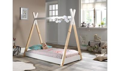 Vipack Kinderbett »Tipi«, mit Lattenrost kaufen