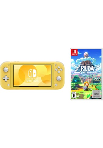 Nintendo Switch Konsole »Lite«, inkl. The Legend of Zelda: Link's Awakening kaufen