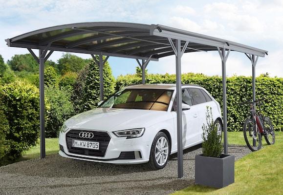 Carport aus Metall