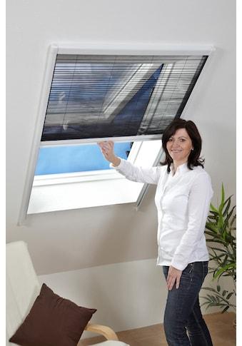hecht international Insektenschutz-Dachfenster-Rollo, weiß/anthrazit, BxH: 110x160 cm kaufen