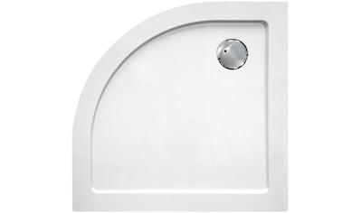 Sanotechnik Duschwanne »SMC«, rund, BxT: 100 x 100 cm kaufen