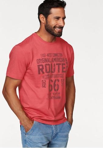 Man's World T-Shirt, Großer Print kaufen
