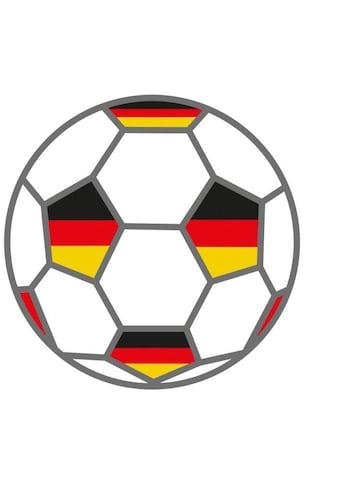 Wall-Art Wandtattoo »Fußball + Deutschland Fahnen« kaufen