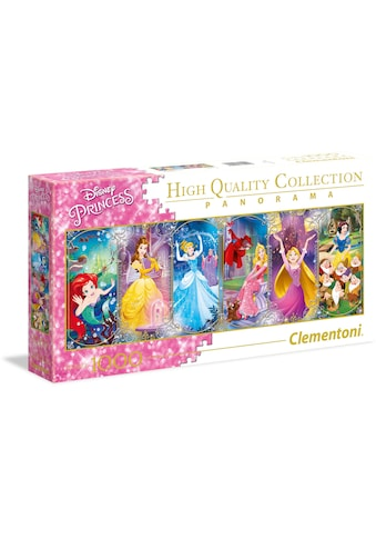 Clementoni® Puzzle »Panorama High Quality Collection - Disney Princess«, Made in... kaufen