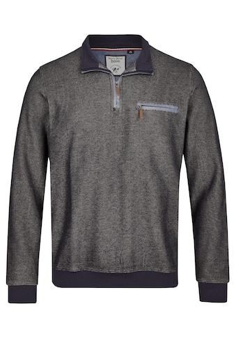 Hajo Sweatshirt, in Längsoptik kaufen