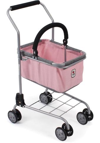 CHIC2000 Spiel-Einkaufswagen »Kinder Einkaufswagen, grau-rosa« kaufen