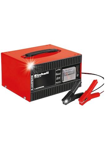 Einhell Autobatterie-Ladegerät »CC-BC 5«, 5000 mA, 5 A Ladestrom kaufen
