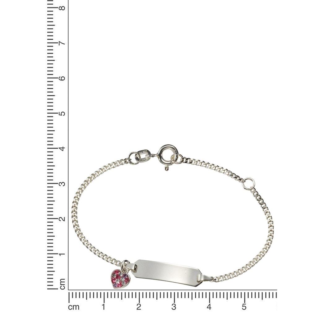 Firetti Armband »Herz«, mit Zirkonia, Made in Germany