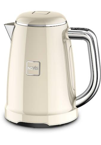 NOVIS Wasserkocher »6114.09.20 Iconic Line - KTC1 creme VDE«, 1,6 l, 2400 W, mit... kaufen