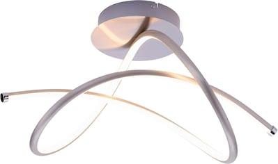 Leuchten Direkt Deckenleuchte »VIOLETTA«, LED-Board, Warmweiß, inklusive festverbaute LED, geschwungene aus Stahl gefertigte Deckenlampe kaufen