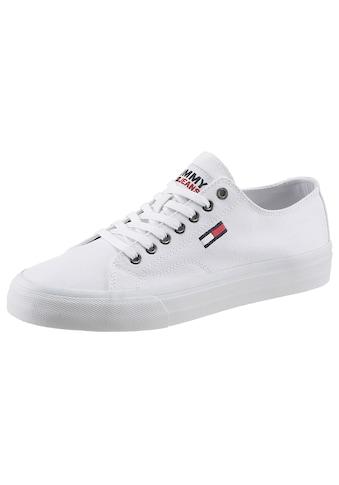 Tommy Jeans Sneaker »LONG LACE UP VULC«, mit gestickerter Logoflag kaufen