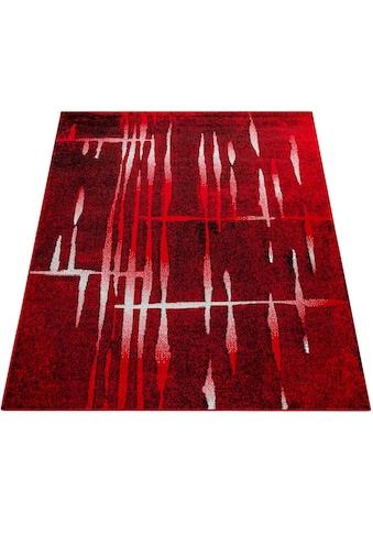 Paco Home Teppich »ECE 924«, rechteckig, 14 mm Höhe, Kurzflor, Matrix Design, Wohnzimmer kaufen