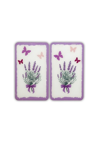 WENKO Herd-Abdeckplatte »Lavendel-Bouquet«, kratzfest kaufen