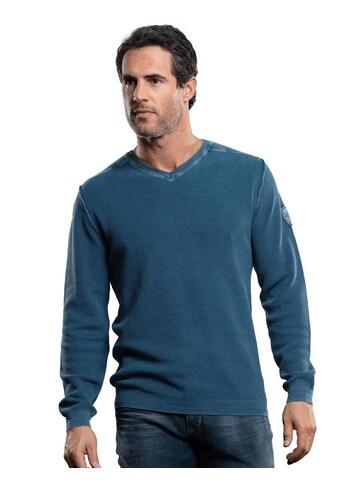 Engbers Baumwollpullover mit Rippstruktur kaufen