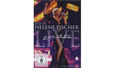 Musik - CD Best Of Live - So Wie Ich / Fischer,Helene, (1 DVD - Video Album) kaufen