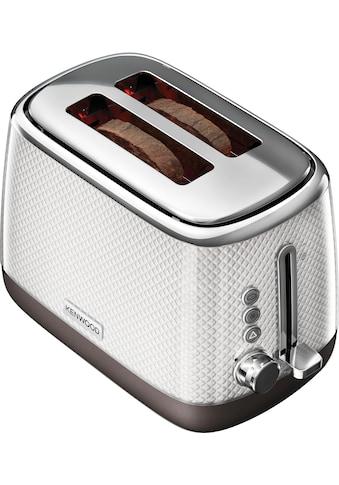 KENWOOD Toaster »Mesmerine TCM811.WH«, für 2 Scheiben, 1000 Watt kaufen