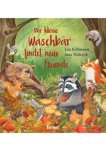 Buch »Der kleine Waschbär findet neue Freunde - ein Bilderbuch für Kinder ab 2 Jahren... kaufen