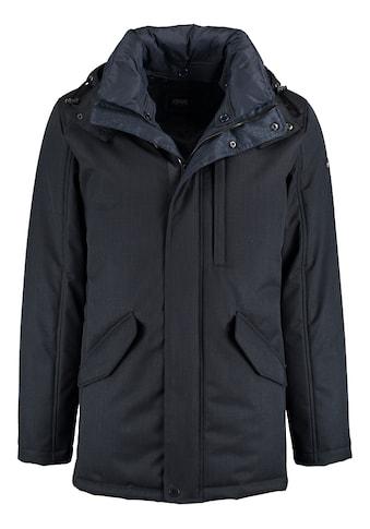 DNR Jackets Herren Parka mit Steppfutter und praktischen Taschen kaufen