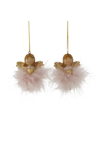 BOLTZE Dekohänger »Molly«, Engel mit Herz und Stern, Höhe ca. 7 cm kaufen