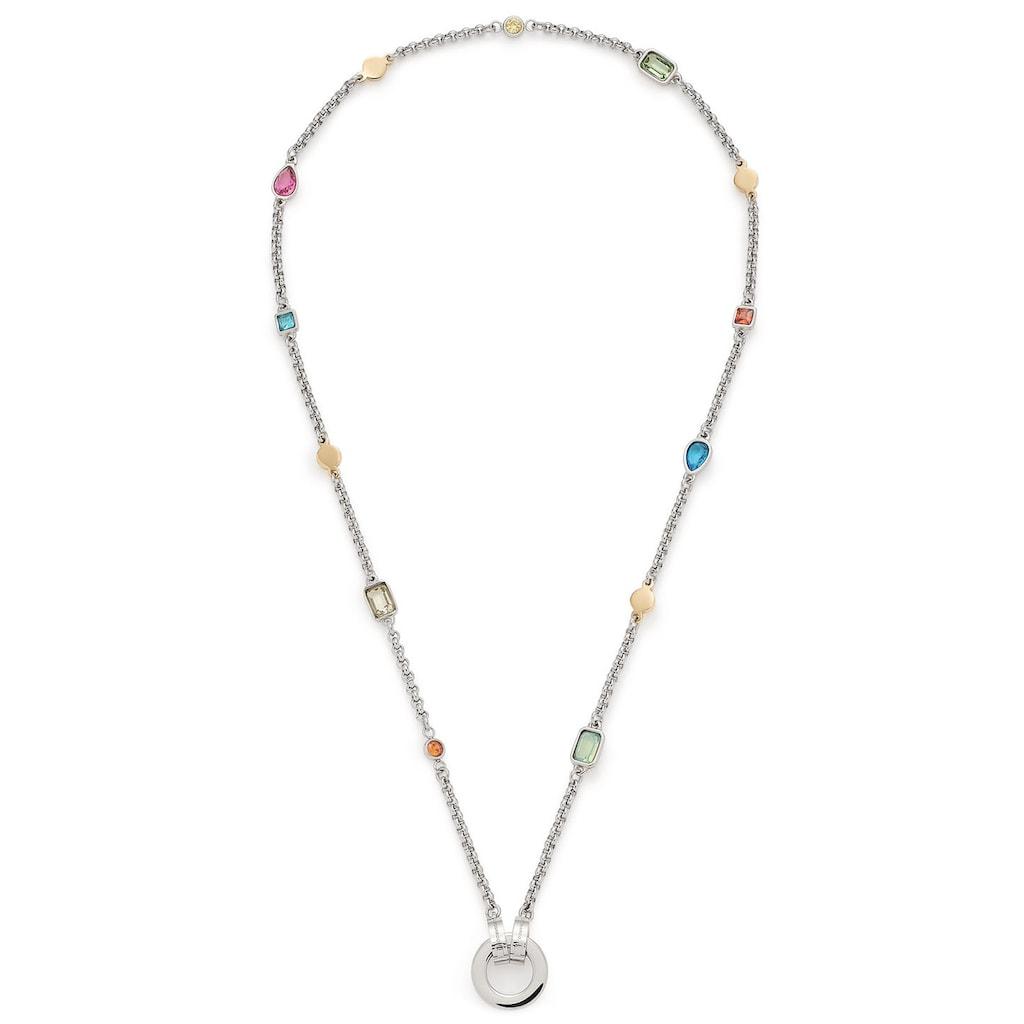 LEONARDO Charm-Kette »Rimini Darlin's, 018034«, mit Kristallsteinen