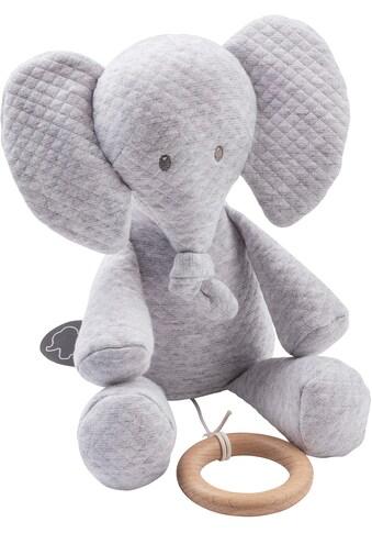 Nattou Spieluhr »Tembo, Elefant, 28 cm«, Jacquard grau kaufen