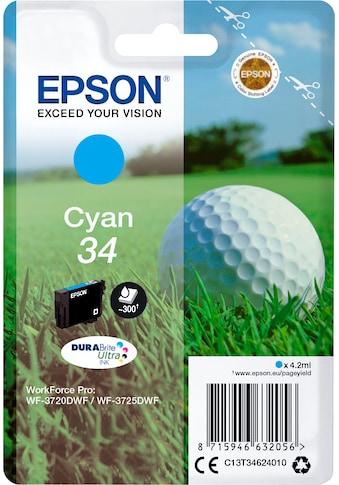 Epson Tintenpatrone »Singlepack Cyan 34 Tinte DURABrite« kaufen