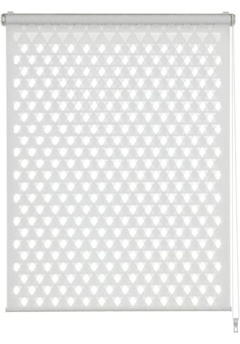 Doppelrollo »EASYFIX Doppelrollo Cut - Out Dreieck«, GARDINIA, Lichtschutz, ohne Bohren kaufen