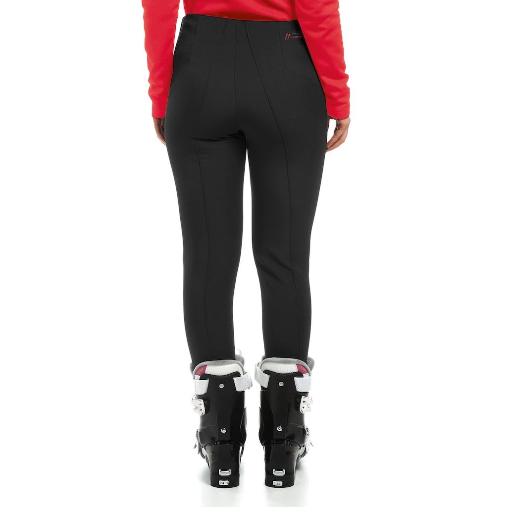 Maier Sports Skihose »Sonja«, Slim Fit Steghose, elastisch, femininer Schnitt