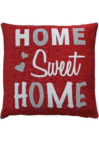 HOSSNER - HOMECOLLECTION Kissenhülle »Home Sweet Home«, (2 St.) kaufen