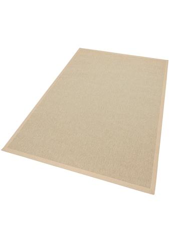 Dekowe Teppich »Naturino Rips, Wunschmaß«, rechteckig, 7 mm Höhe, Flachgewebe,... kaufen