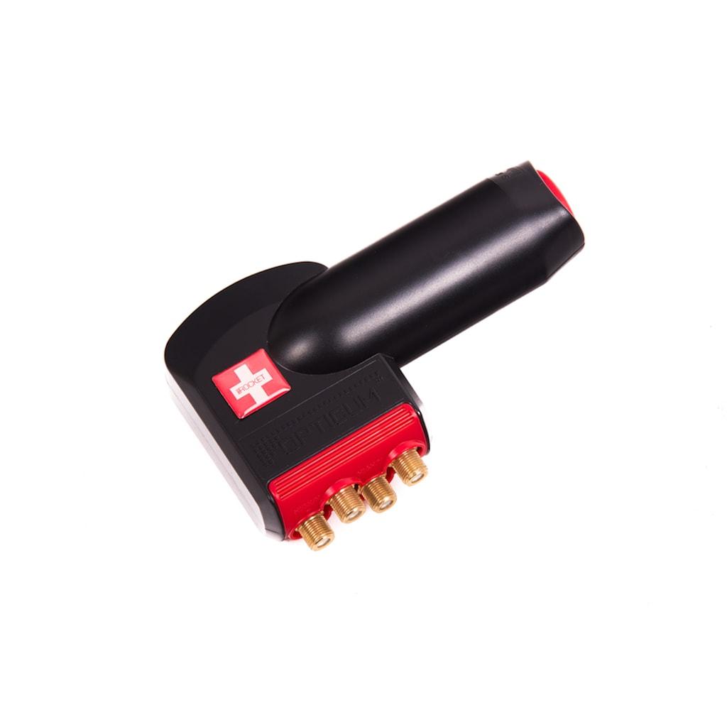 Opticum Red Universal-Quattro-LNB »LRP-06H«, für 4 Teilnehmer