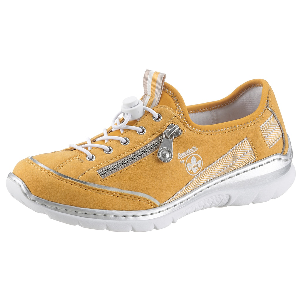 Rieker Slip-On Sneaker, mit elastischem Einschlupf