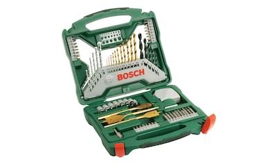 BOSCH Werkzeug - Zubehör - Set »X - Line Titanium«, + Zangen - Set, 70 - tlg. kaufen