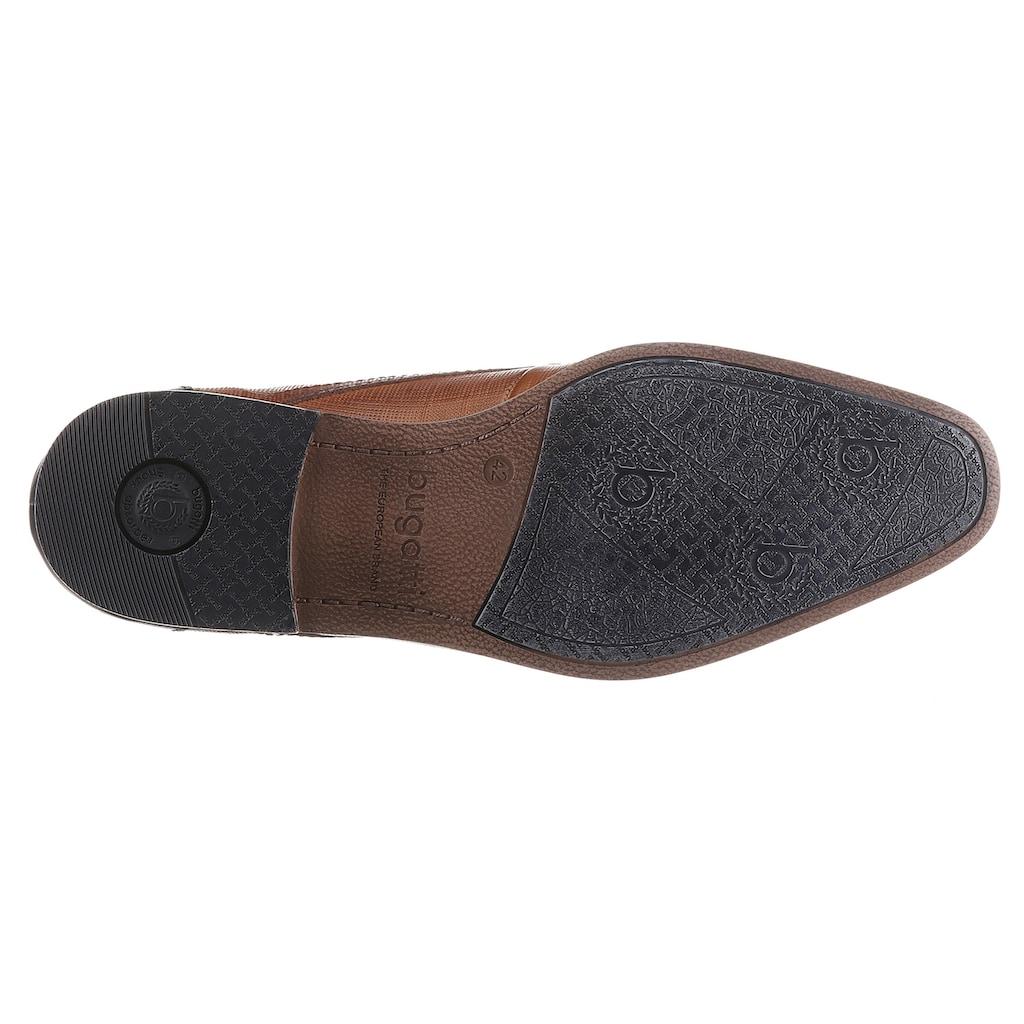 bugatti Schnürschuh »MORINO«, mit praktischem Reißverschluss